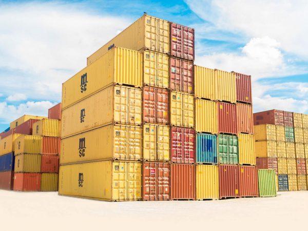 Ile waży kontener morski 6m?